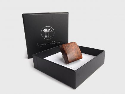 Snakewood square ring