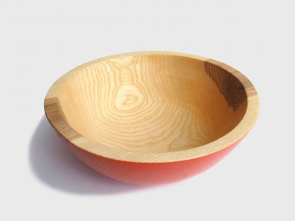 Orange ash bowl