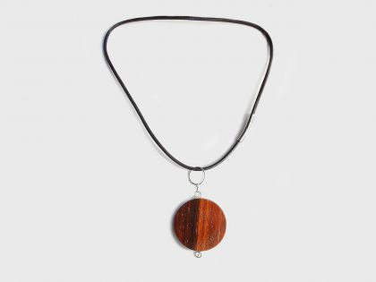 Mars planet necklace