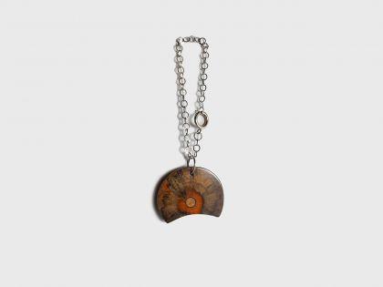 Half moon keychain