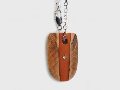 Caledonia stripe keychain