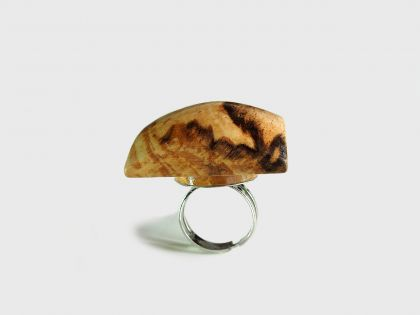 Spalted beech ring