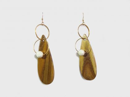 Pendant earrings sumac S03
