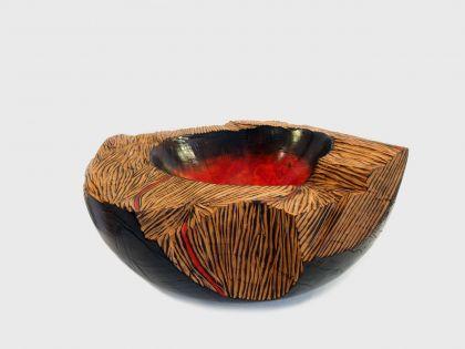 Vaso scultura Caldera