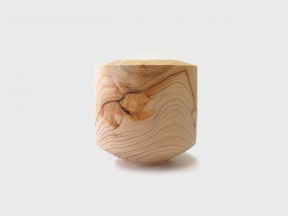 Vaso cedro geometrico